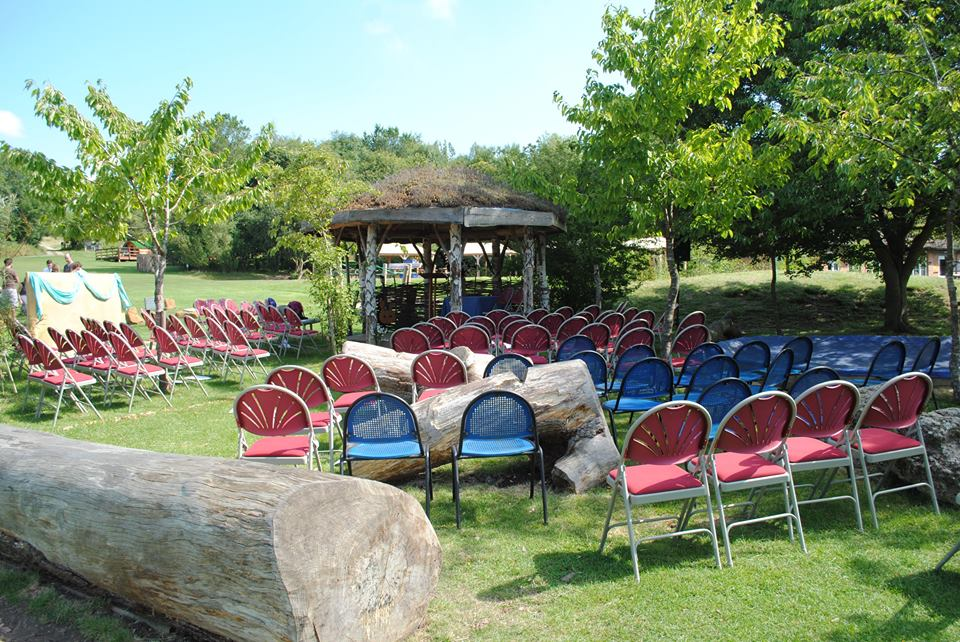outdoor ceremony amplification