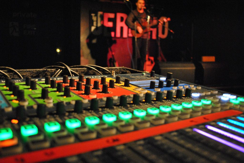 Soundcraft Si digital mixer at Jericho Tavern