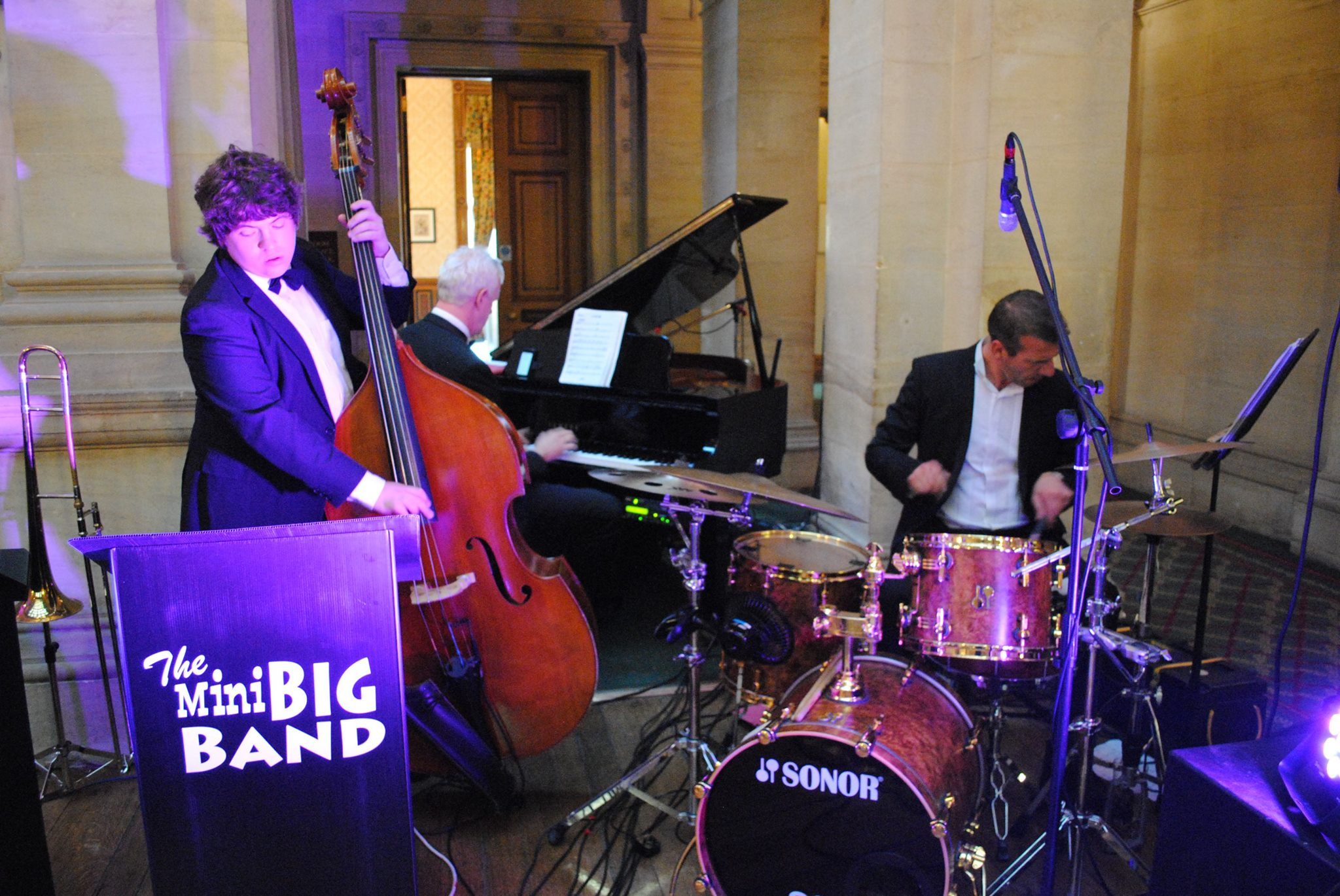 The Mini Big Band at Heythrop Park